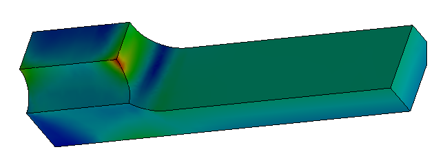 Finite Element Analysis Stress Plot